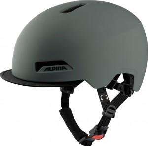 Cykl.helma Alpina Brooklyn káva šedá mat. vel.52-57cm