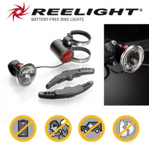 Eclairage AV Reelight SL550 feu permanent noir fixation guidon