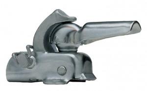 Hebie - Anh�ngerkupplung Hebie F3 Befestigung auf Gep�cktr�ger, Farbe Zink
