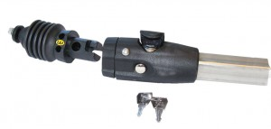 Weber - Umr�stset m.Kupplung D+Deichselanschluss 25,0mm Chariot Kinderanh.f.4-kt.Deichsel