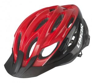 Cyklistická helma Limar Scrambler, cervená/cerná vel.L (57-61cm)