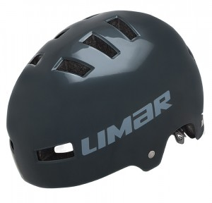 Cyklistická helma Limar 360°, olovová modrá vel.M (52-59cm)