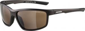 Slunecní brýle  Alpina Defey Obroucky tinn mat.-cerná sklo hnedá zrc.