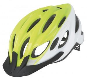 Cyklistická helma Limar Scrambler, reflexní bílá/žlutá vel.L (57-61cm)