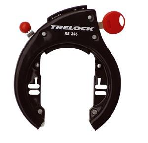 Antivol cadre pour montage direct Trelock noir RS 306 AZ clé amovible