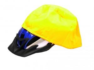 Hock - Regenschutzhaube f�r Fahrradhelm gelb