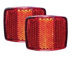 Reflektor-Set rot  für XLC -Anhänger - Pulsschlag Bike+Sport