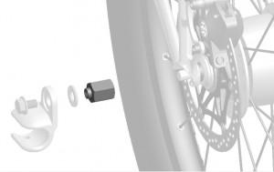Adapter Thule für Nabenschaltungssysteme - Pulsschlag Bike+Sport