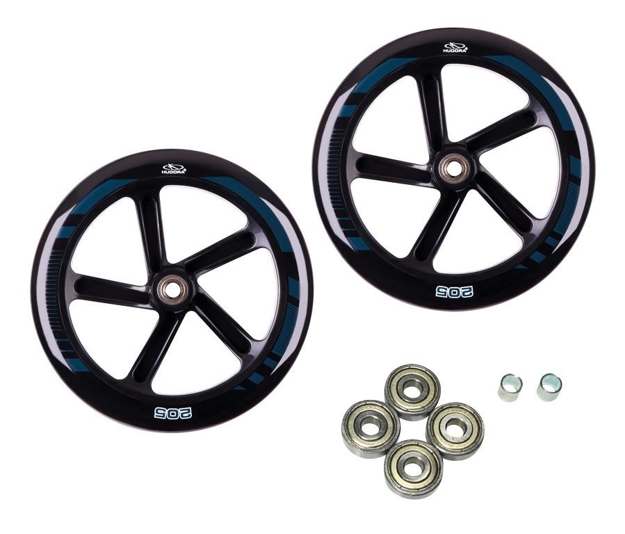 Sada náhr.kol pro Hudora Big Wheel 205,205 mm Ø cerná pro modely 14784