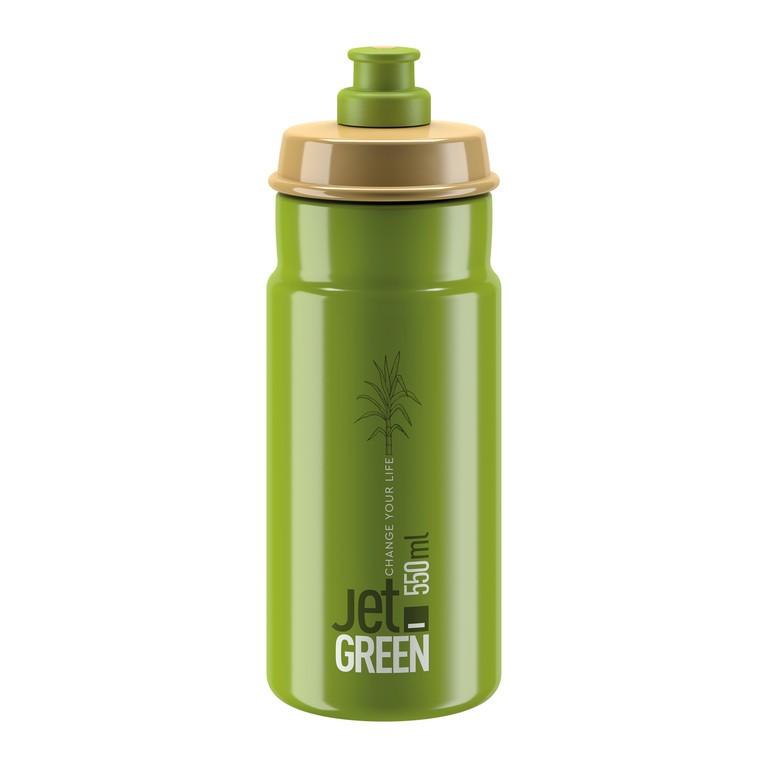 Láhev Elite Jet Green, 550ml, zelená/oliv