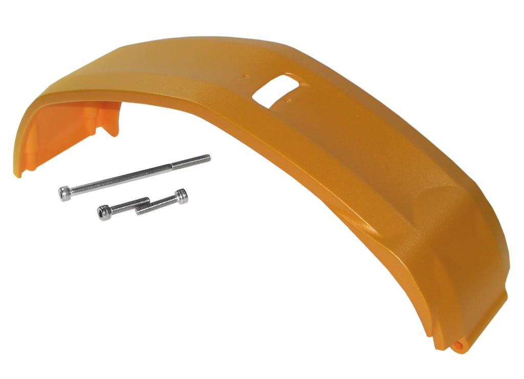Skidplate E-Bike Xduro, oranžová matná YS7884,BoschPerfm 2014+15