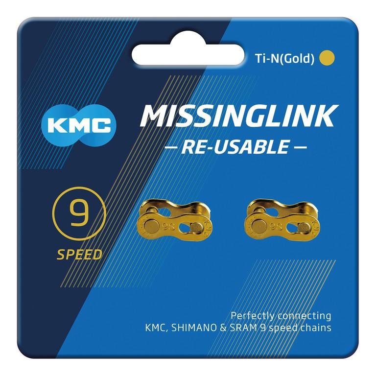 KMC Missinglink 9R zlatý (2ks)