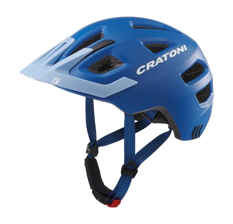 Cratoni Maxster Pro (Kid), Vel. XS/S (46-51cm) modrá/heaven mat.