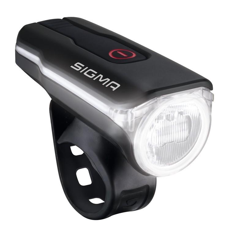 LED-akum.-prední svetlo Aura 60 USB SIGMA