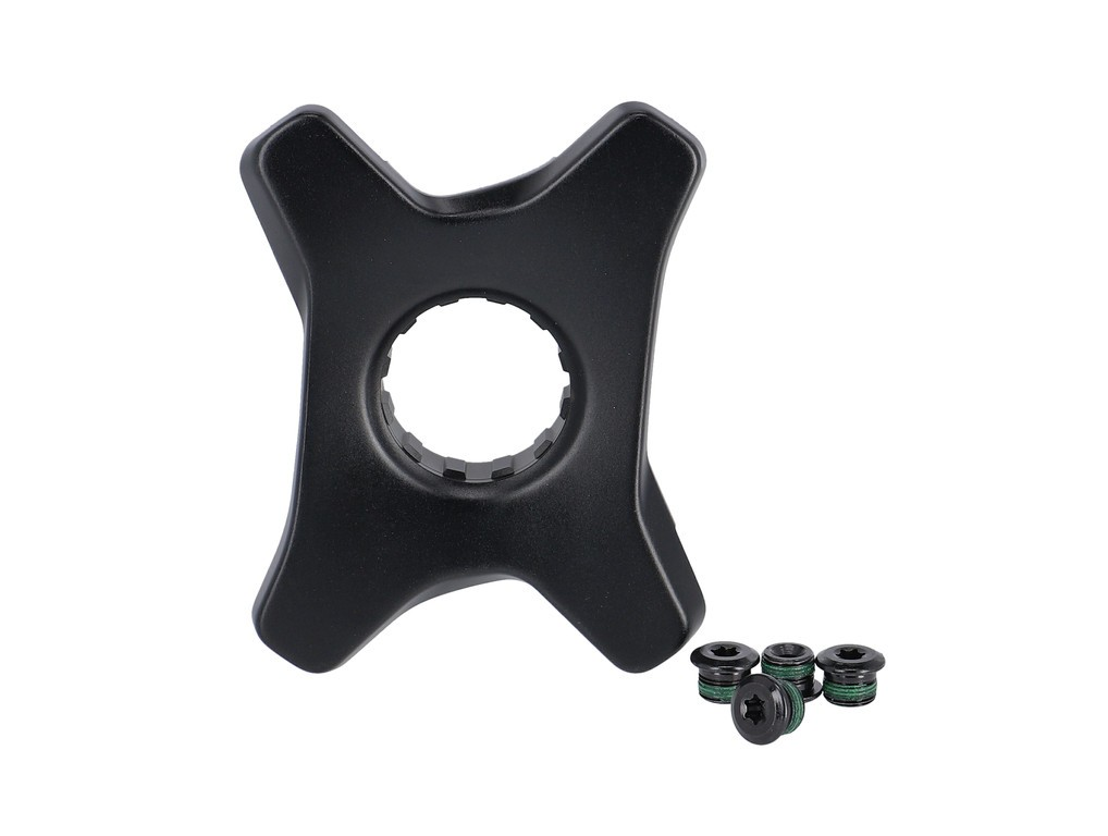 Kliky Crank SpiderFazuaE-Bike107mm cerná 11.6118.064.001,vc.prevodníku+šroubu