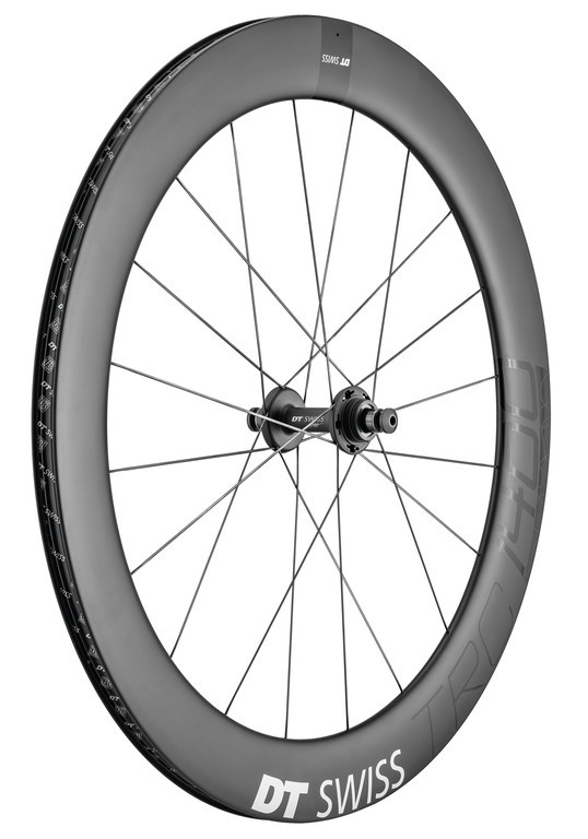 "DT Swiss TRC 1400 Dicut 65 28""/18mm Carbon 120/10mm Bolt on Single Speed"