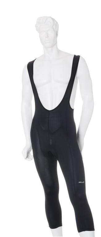 Cyklistické kalhoty s laclem XLC Comp černé vel. S