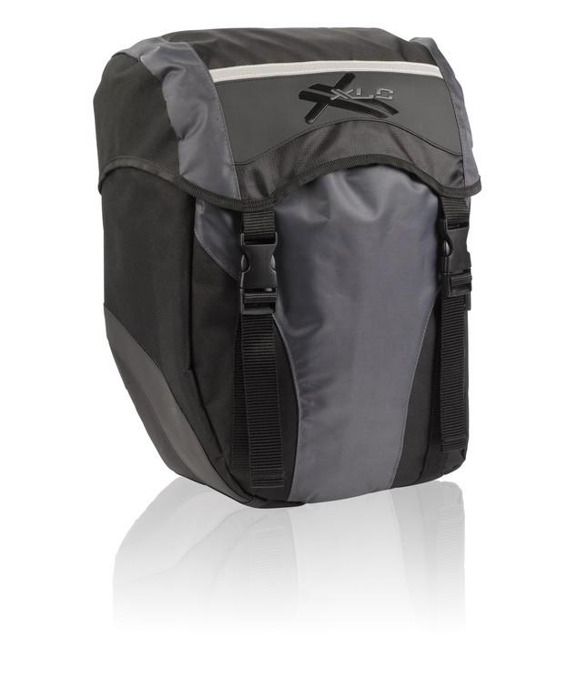 Tašky na kolo XLC BA-S40 černoantracitová