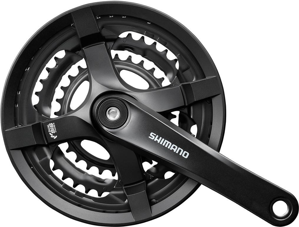 Shimano kliky TOURNEY FC-TY501 4hran 3x6/7/8 170mm 48x38x28z s krytem černé