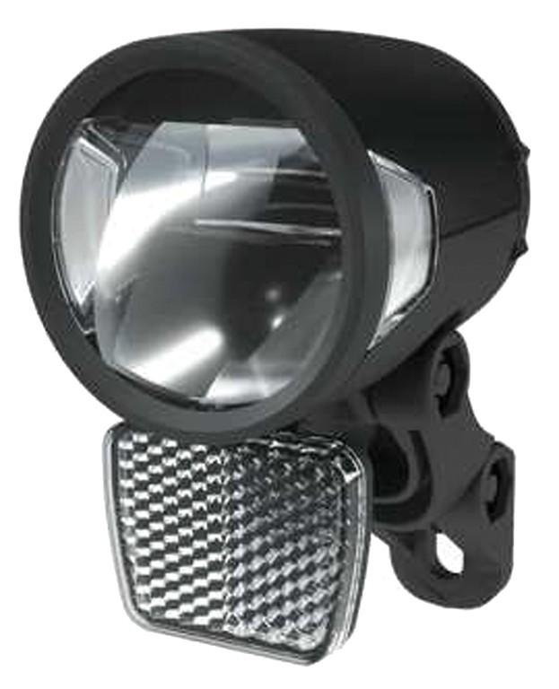 Prední svetlomet Herrmans H-Black MR8 EE-Bike, černá, on