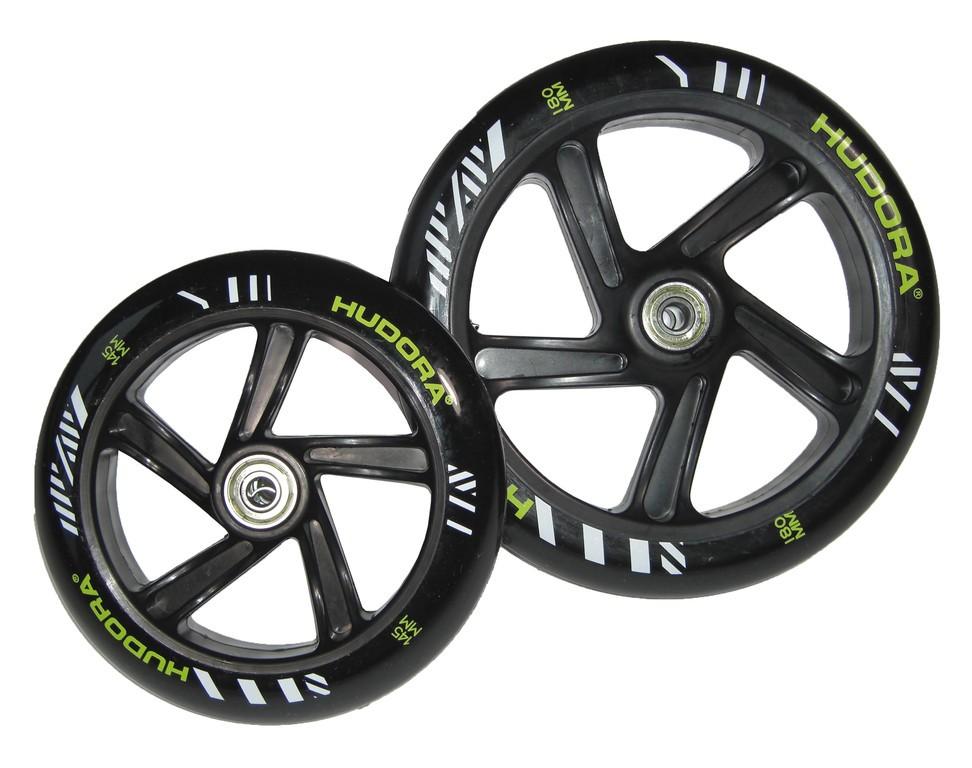 Sada koleček Hudora Bold Wheel L 180/145 mm mod.14253