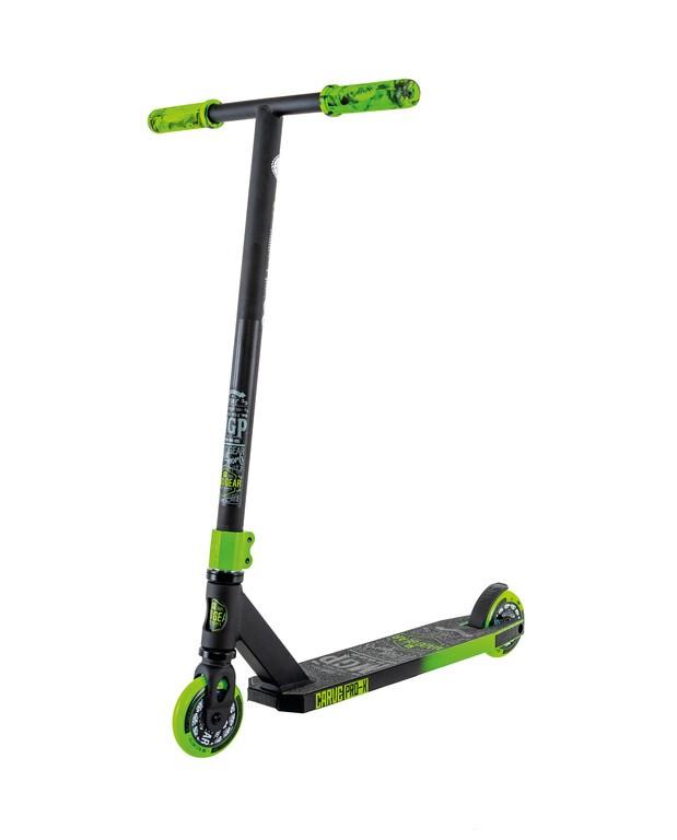 Kolobežka Madd Carve Pro-Xcerná/zelená kolec. 100mm