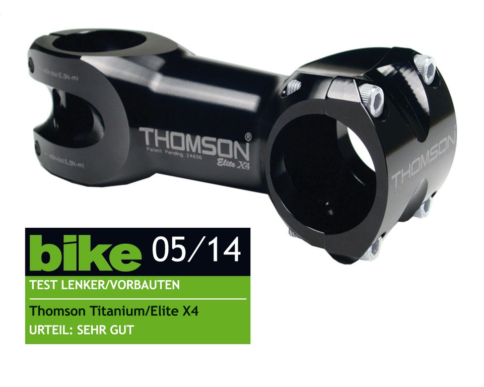 Thomson Elite X4 31,8/60 mm 0° černý