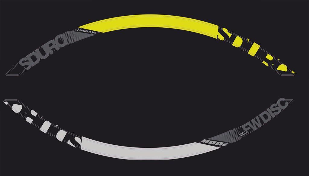 """Haibike Sduro na ráfek 29"""" šedá/žlutá/černá"""