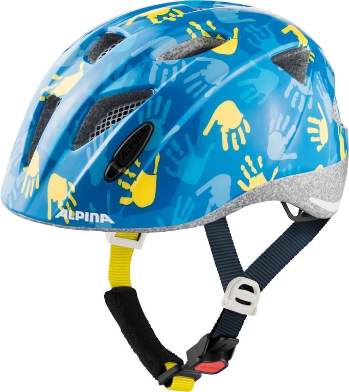 Cykl.helma Alpina Ximo modrá ruc.lesk  vel.47-51cm