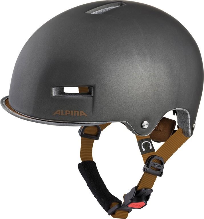 Cyklistická helma Alpina Grunerlokka, sepia vel.52-57cm