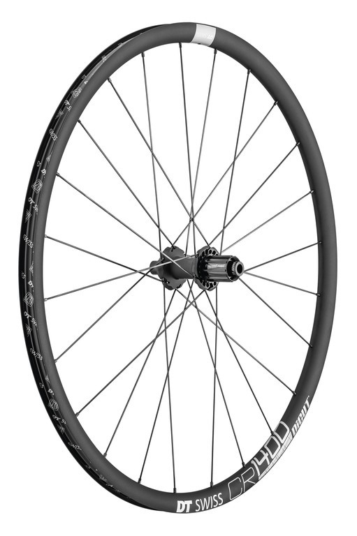 DT Swiss CR 1400 Dicut DB 25 hliník grafit CL142/12mm TA Shimano