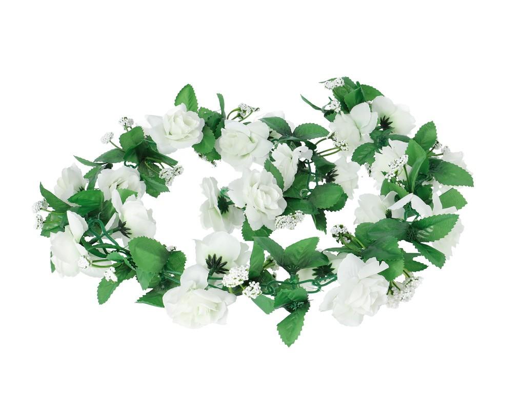 Basil Roses Flower Garland
