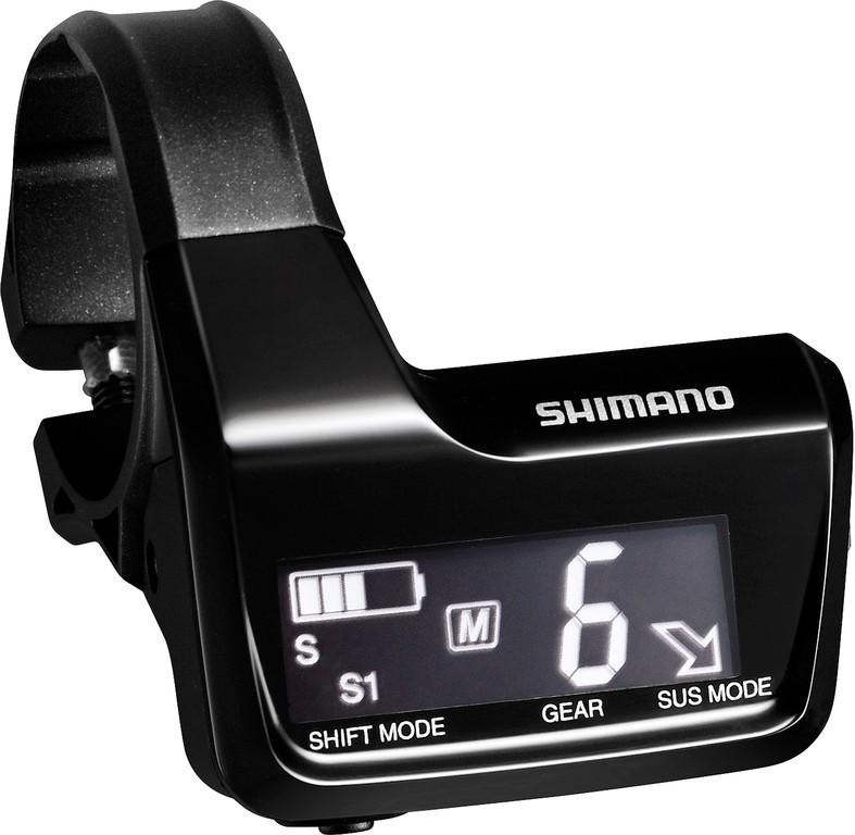 Informacní displej Shimano DeoreXT Di2SC-MT800, cerná