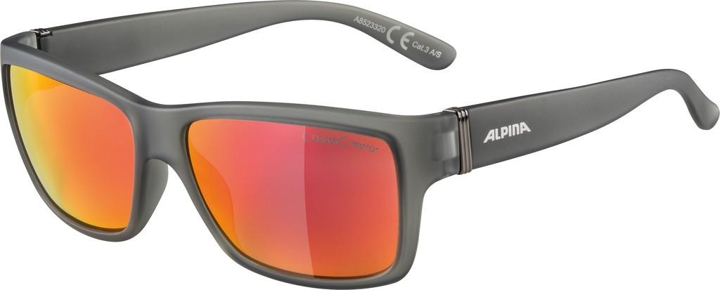 Slunecní brýle Alpina Kacey, cerná cool šedá sklo cerv zrcadl.S3