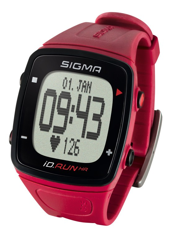 Running-Computer Sigma ID.Run HR, rouge