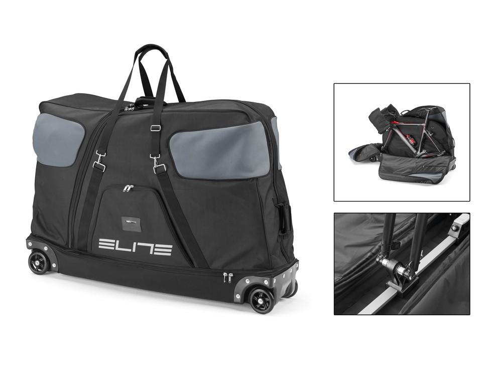 Cyklistická taška Elite Borson, cerná/šedá, pro 1 kolo