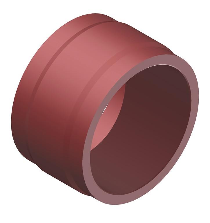 Dist.objímka DT Swiss pro náboj EXP, cervená, 10,7mm, HRDXXX00N8242S