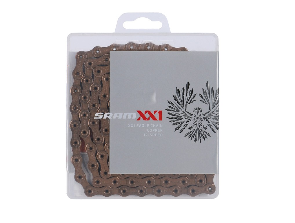 SRAM PC XX1 Eagle HallowPin 126 článků Copper 12r+ PowerLock
