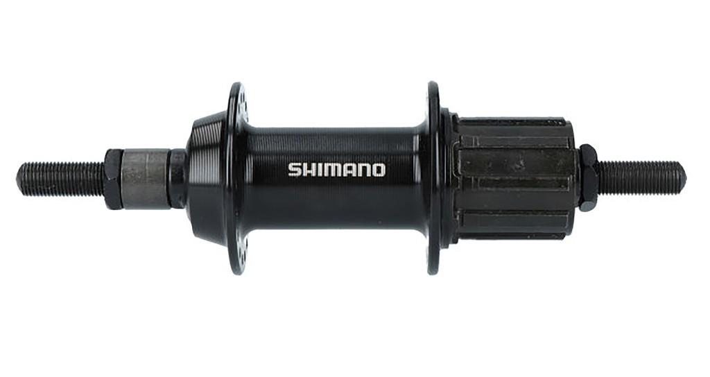 Zadní náboj Shimano FH-TY 500 7-st135mm, 36 der, cerná, rýha