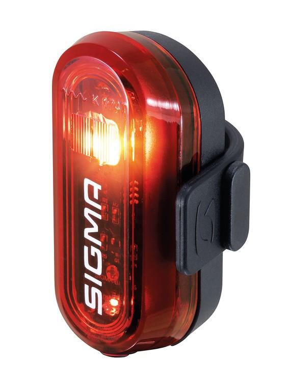 LED-zadní svetlo na bat.Sigma Curve cerná