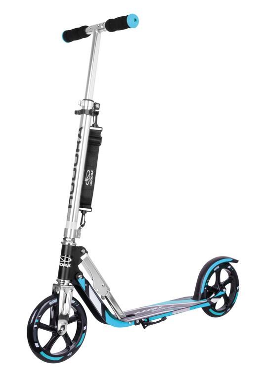 Hudora Big Wheel 205 černá/modrá