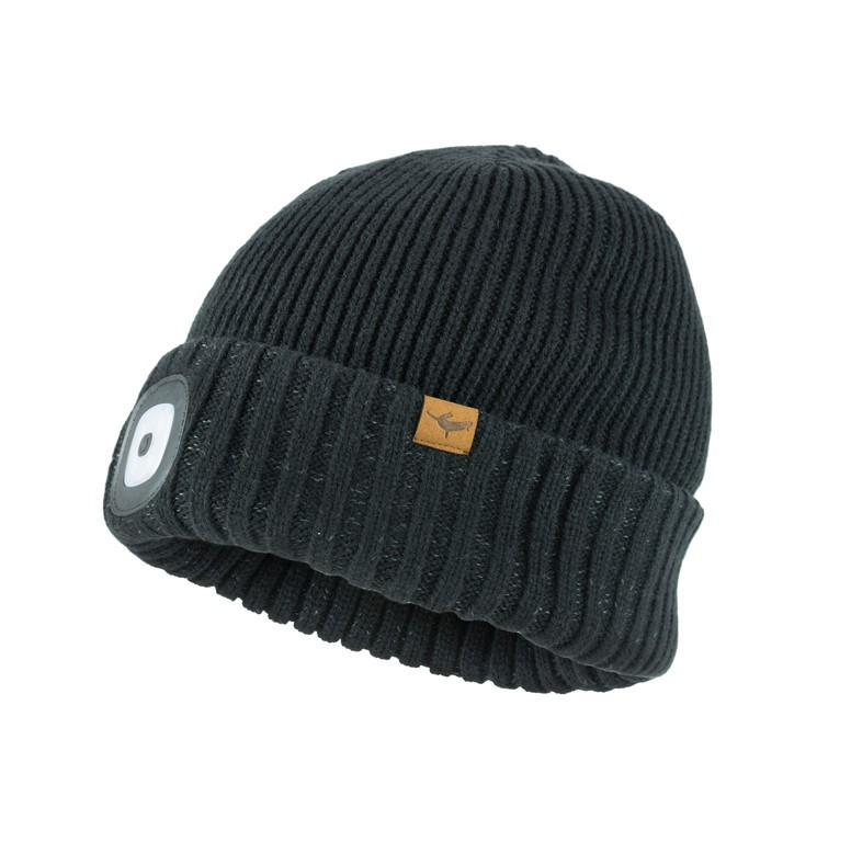 SealSkinz Cold Weather LED Roll Cuff černá vel.S/M