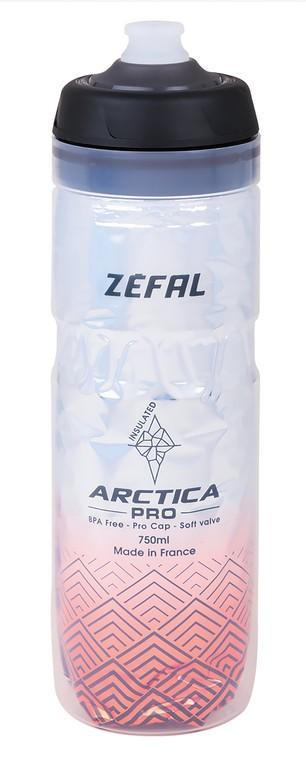Zéfal Arctica Pro 75 stříbrná/červená(750 ml)