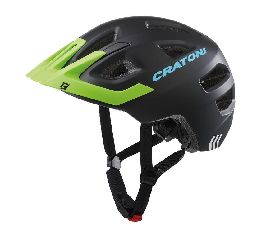Cratoni Maxster Pro (Kid), Vel. XS/S (46-51cm) cerná/limet. mat.