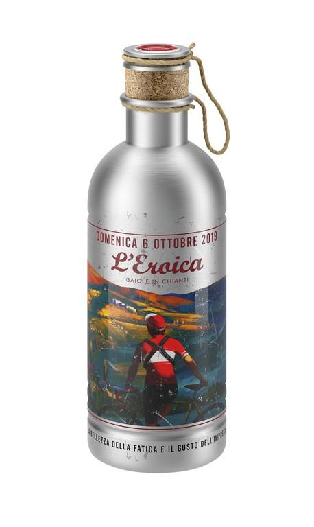 Láhev na pití Elite L'Eroica, 600ml, hliník, 6 ríjen 2019