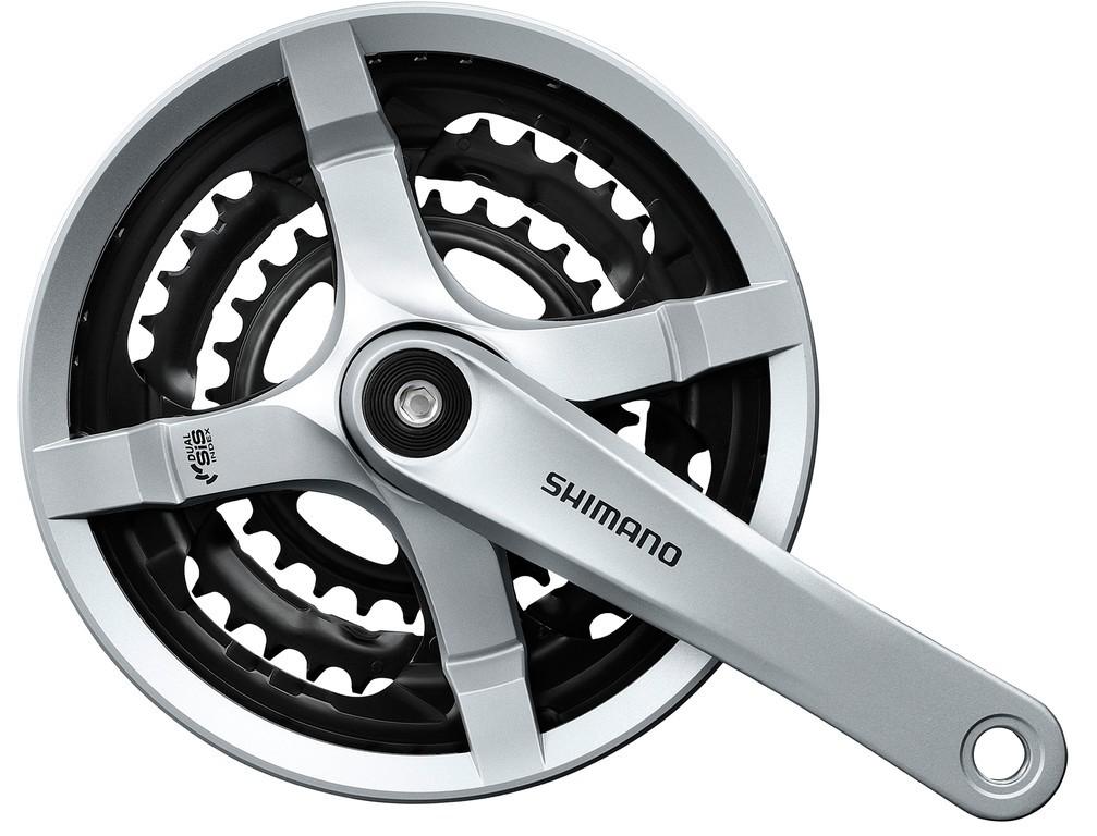 Shimano FC-TY501 48/38/28 175 mm stříbrné