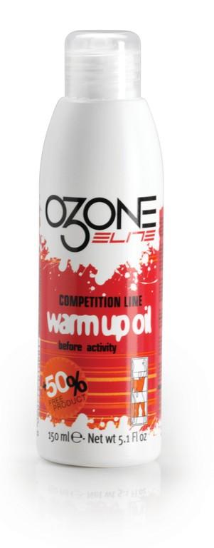 Elite Ozon Pre-Competiion Warm-up, zahrívací olej Spray 100 ml