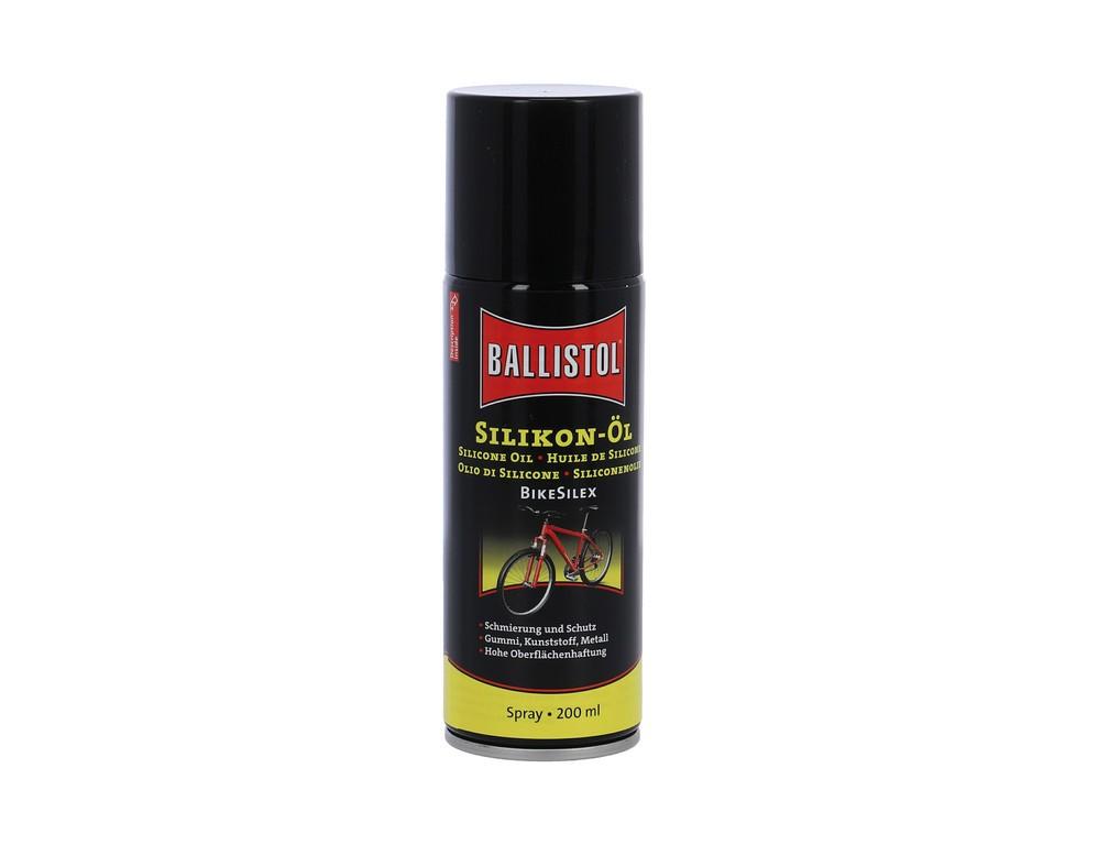 Silikonový sprej BikeSilex Ballistol, 200ml Sprej (Euro)