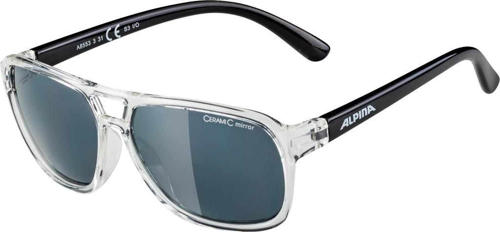Slunecní brýle Alpina Yalla, Obroucky cirá/cerná Skla cerná vesp.S3