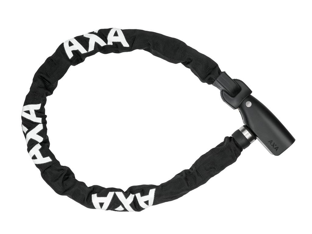 Retez.zámek Axa Absolute 110/8, Délka 110cm, tlouštka 5mm cerná